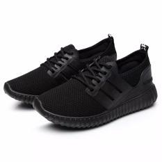 Giày sneaker cặp đôi nam nữ, đế êm dẻo, chất thoáng khí UF HAPU (đen)