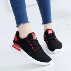 Giày sneaker nữ chữ M - NewNMD HAPU (đen)