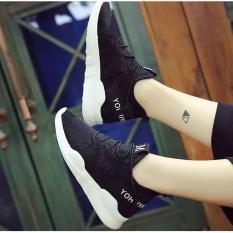 Giày sneaker nữ chữ M siêu hot - GiayKS - ChM003 (trắng)