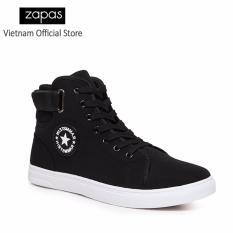 Giày Sneaker Thời Trang Nam Zapas – GS020 (Màu Đen)