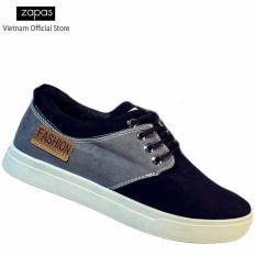 Giày Sneaker Thời Trang Nam Zapas – GS050 ( Đen )