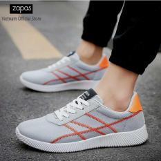 Giày Sneaker Thời Trang Nam Zapas – GS077 ( Đen )