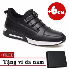 Giày Tăng Chiều Cao 6cm+ Tặng 1 ví da TINTO 6501DE