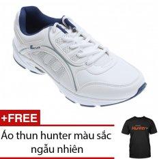 Giày thể thao nam Bitis DSM616330TRG (TRẮNG) + Tặng 1 áo thun hunter