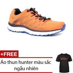 Giày thể thao nam - Hunter Bitis DSM062133CAM (Cam) + Tặng 1 áo thun hunter