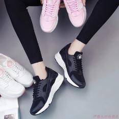Giày thể thao nữ đế siêu êm, nhẹ - GiayKS - HRC001 (đen)