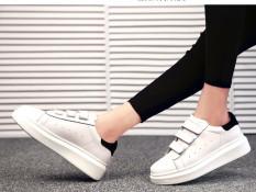 Giày thời trang 3 dán kiểu Hàn Quốc