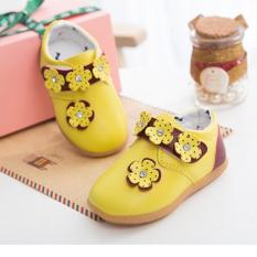 Giày thời trang Hàn Quốc cho bé (vàng)