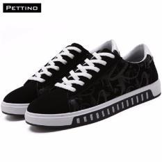 Giày Thời Trang Nam Cao Cấp - Pettino GV08 (trắng đen)