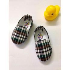 Giày Vải Caro Cho Bé