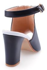 Giày xăng đan boot Senta Y01 (Trắng đen)