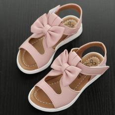 Sandal bé gái SDHQ013B (Hồng)
