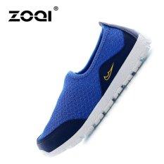 ZOQI Childrens Mesh Shoes Light Running Shoes(Green) - intl