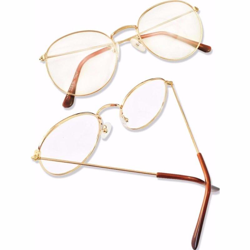 Mua Bộ Đôi Mắt kính ngố gọng cận Nobita nam-nữ baby cute KZY (Vàng)