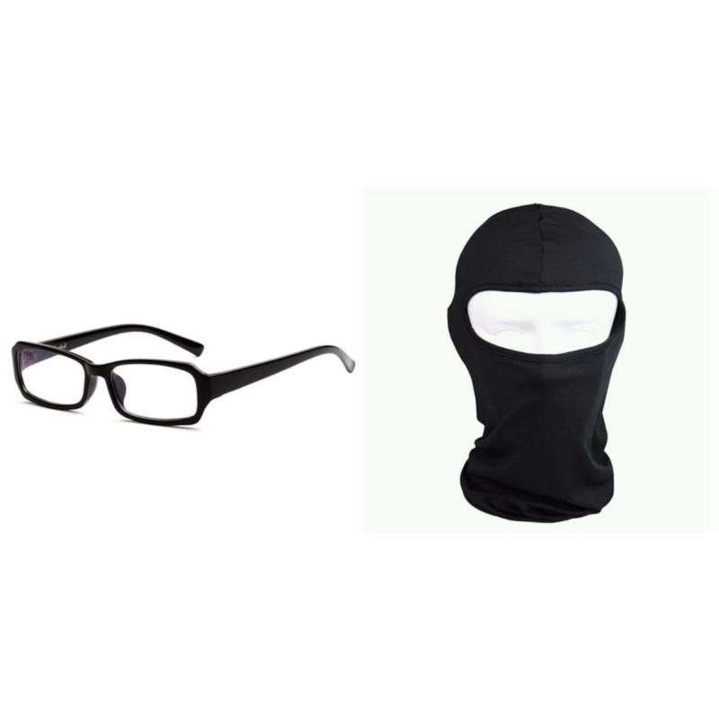 Mua Bộ kính giả cận và khăn trùm ninja đen