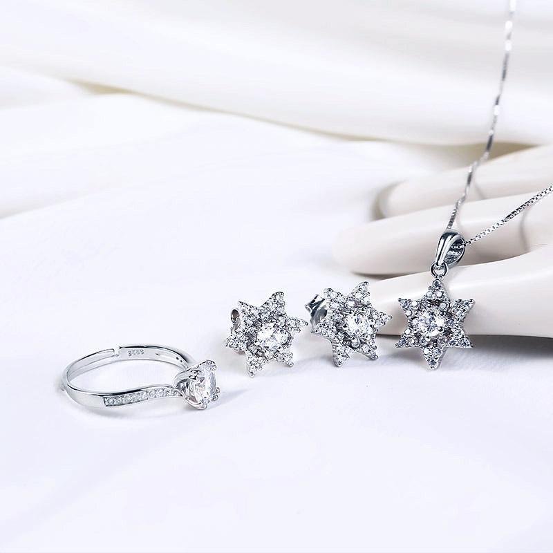 Bộ trang sức bạc Love Star | Eropi