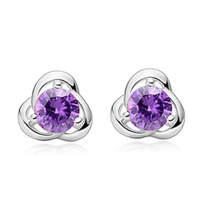 Bông tai bạc cao cấp Thao Linh Jewelry BT0563