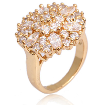 Finger Ring Jewelry 18K Gold Filled (Intl)