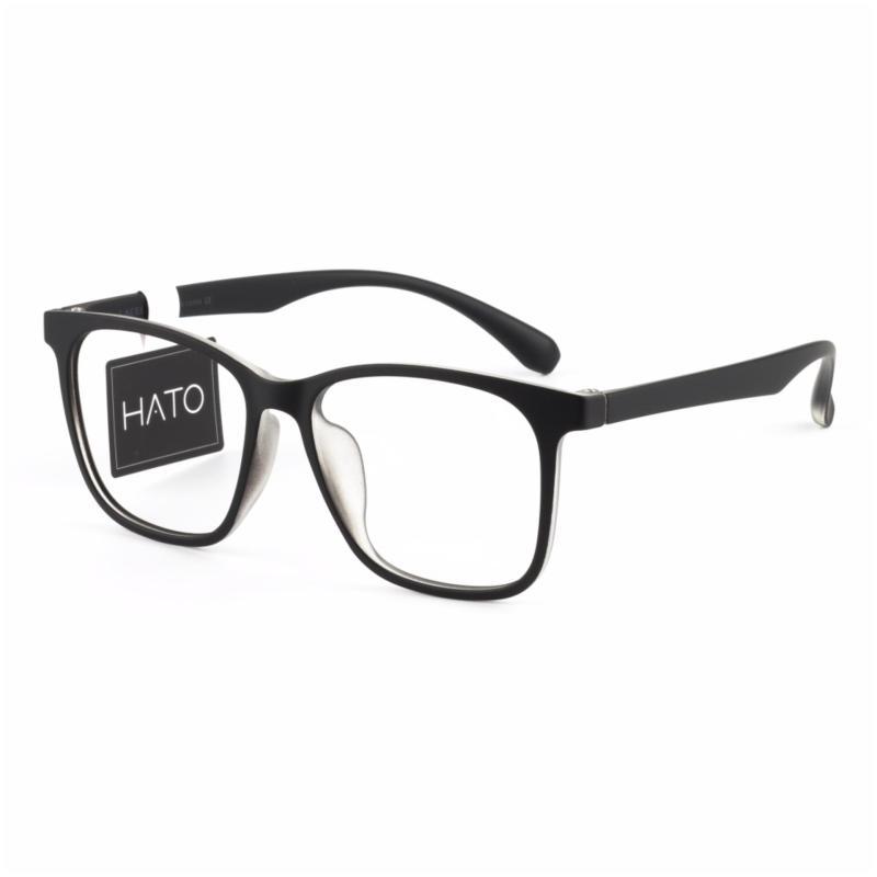 Giá bán Gọng Kính Cận TR90 Hato Lacello L5004 (C1 Đen bóng)