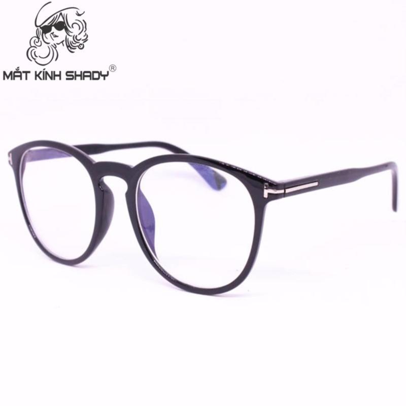 Giá bán Gọng kính cao cấp thời trang unisex shady - G621 (Đen bóng )