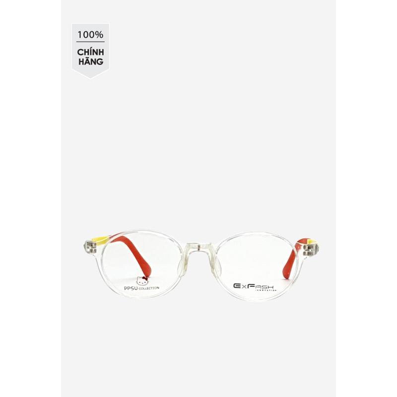 Giá bán Gọng kính Exfash EF 4440 C751 càng mảnh màu vàng phối đỏ