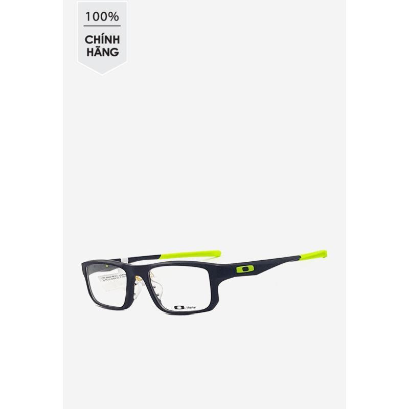 Giá bán Gọng kính Oakley chữ nhật màu đen phối xanh chuối OX 8066 0753