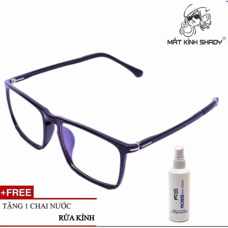 Giá bán Gọng kính siêu dẻo Shady G412 (Đen Nhám) + Tặng 1 chai nước rửa kính ROSSI Italy Design