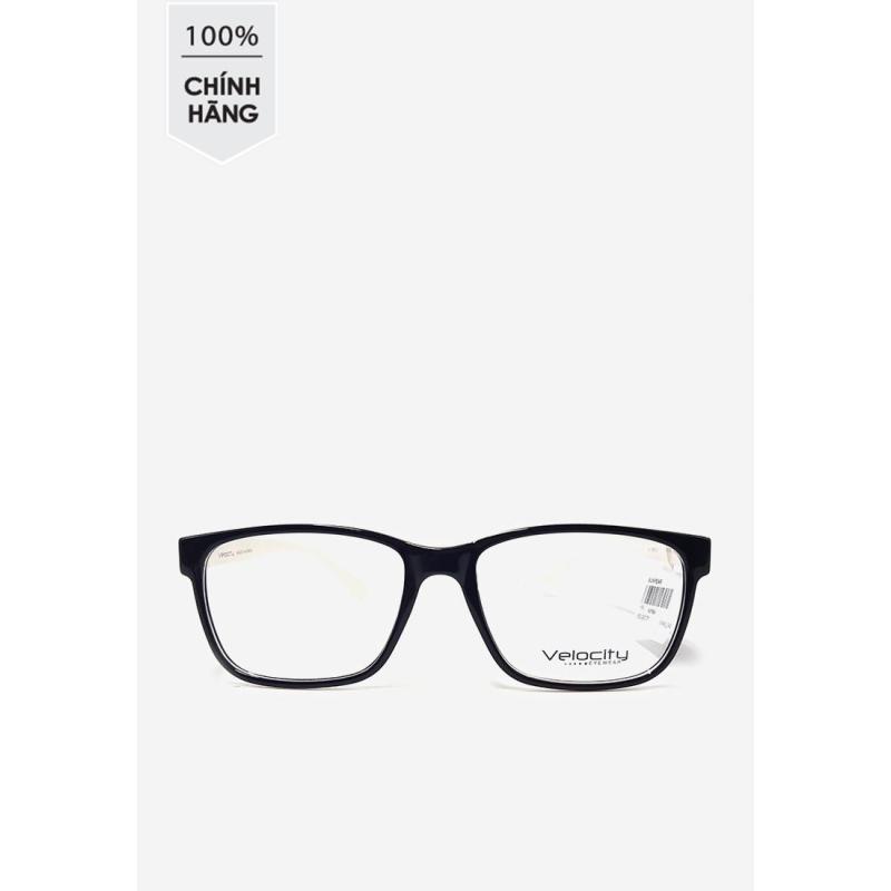 Giá bán Gọng kính vuông unisex Velocity VL 5452 042 trắng - đen