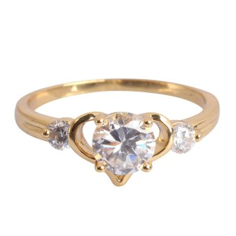 Heart Woman Ring 18K Gold Filled (Intl)