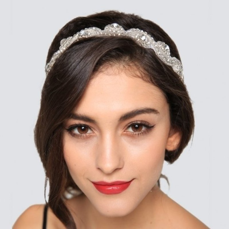 Jo.In Headwear Headband Flowers Headband Bridal Hair Headband (Multicolor) - Intl - intl