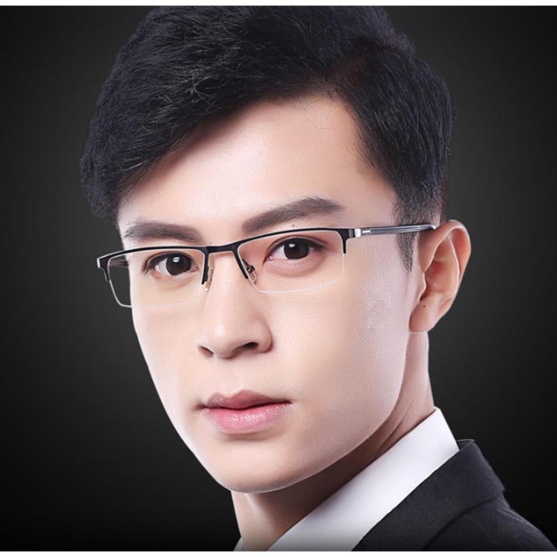 Giá bán Kính mắt nam chống bức xạ gọng kim loại K213 - 1A (Đen)