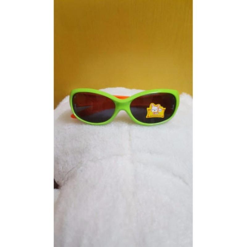Giá bán Kính mát trẻ em chống nắng cao cấp (Xanh cam) GC-0001