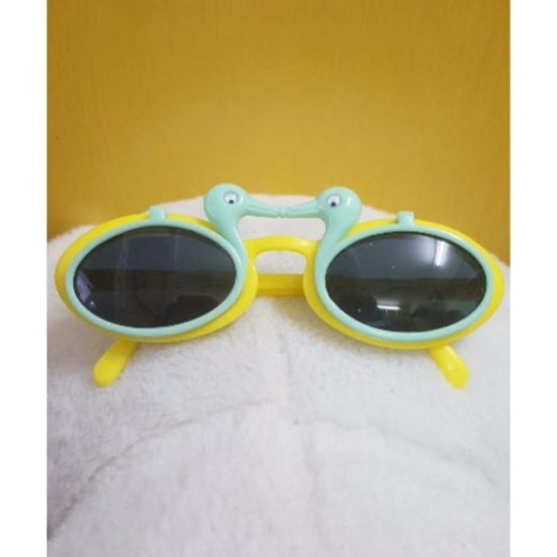 Giá bán Kính mát trẻ em chống nắng hình con vịt (Xanh vàng)