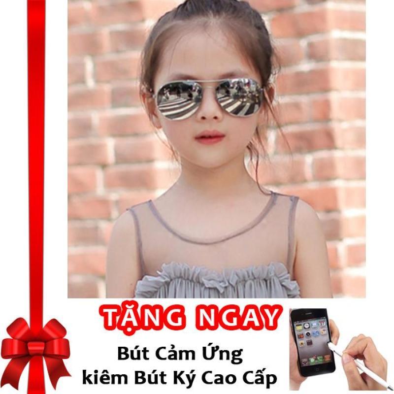 Giá bán Kính thời trang phản quang cực chống tia UV siêu đáng yêu cho bé Korea Kids 2017 F171 (Sao thủy) + Tặng bút cảm ứng kiêm bút ký