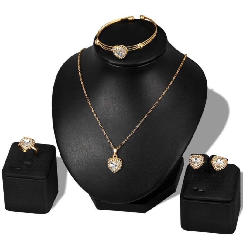 Kuhong Jewelry Sets Wedding Dress For Women Jewelry Set 2017 Fashion - intl