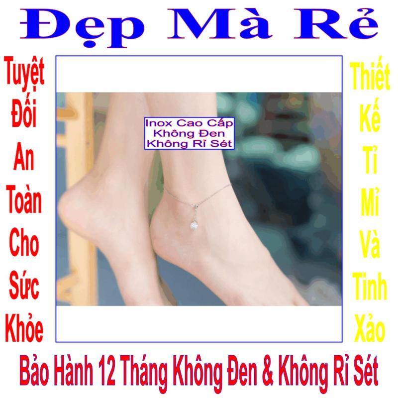 Lắc chân inox Đẹp Mà Rẻ kiểu trái châu