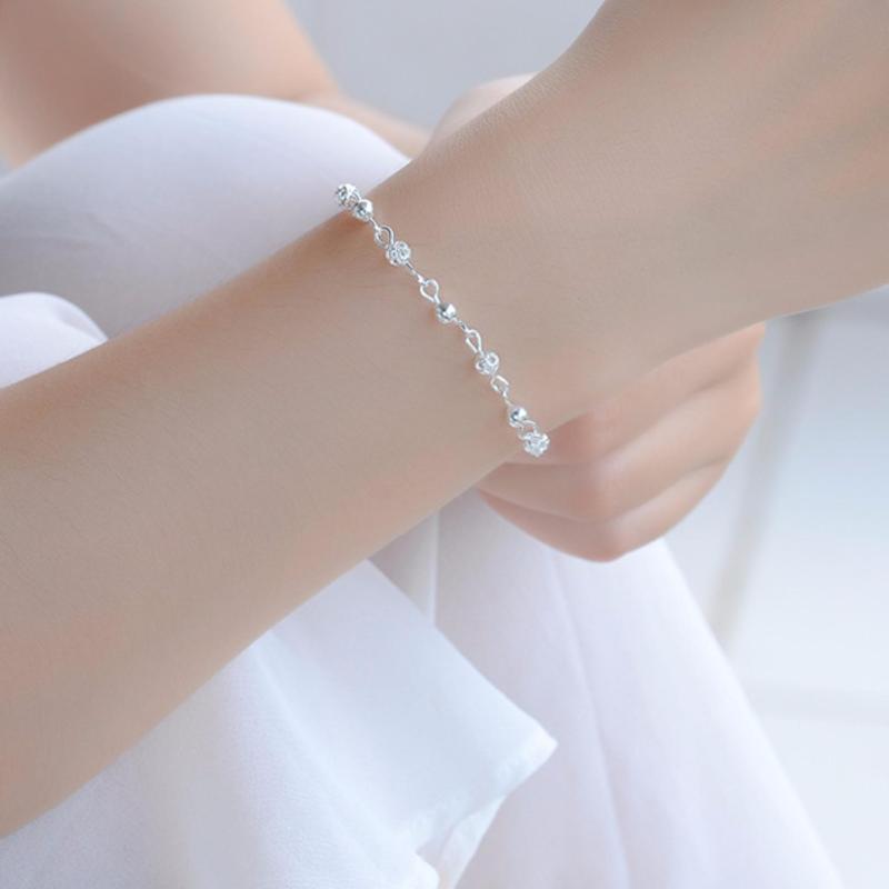Lắc Tay Nữ Trang Sức Bạc Sodoha Bracelet Circle JCS-900AG