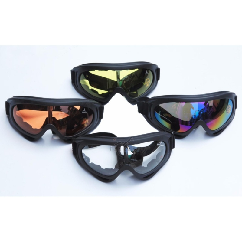 Mua Mắt kính đi phượt UV400 Che bụi và chống tia UV Tiện Lợi