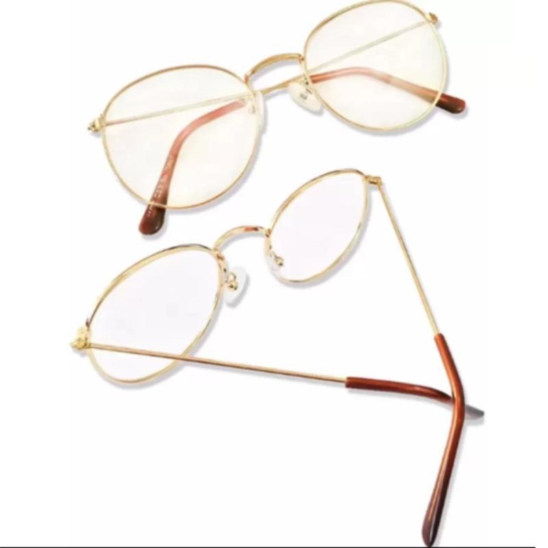 Mua Mắt kính ngố gọng cận Nobita thời trang (Vàng đồng)