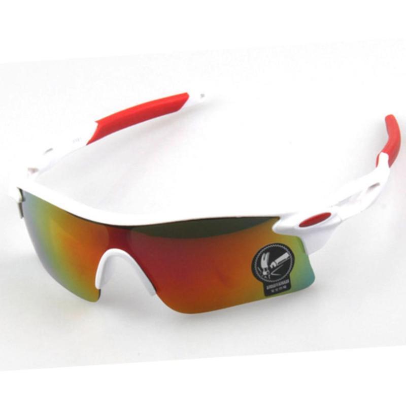 Giá bán Mắt kính thời trang đi phượt, thể thao tráng bạc 7 màu chống UV (Trắng)