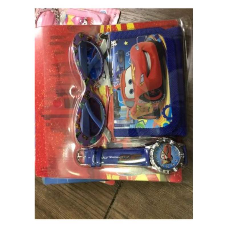 Giá bán Set đồ 3 món : ví, mắt kính, đồng hồ dành cho bé ( nhiều màu )