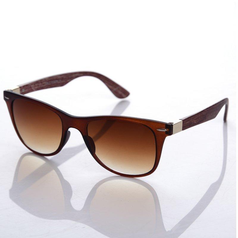 Mua Unisex Classic Fashion Large Frame Sunglasses(Brown) - intl