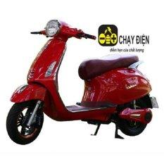 Xe máy điện vespa siêu phẩm (Đỏ)