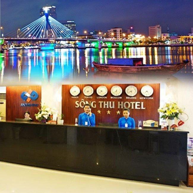 Đà Nẵng - Sông Thu hotel 3* Đà Nẵng 2N1Đ giá siêu sốc