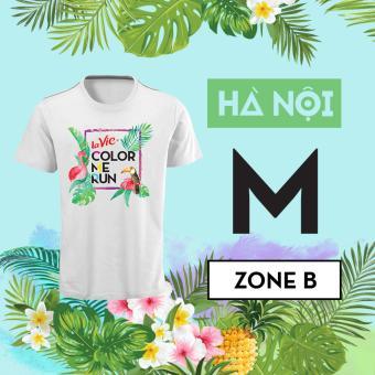 La Vie Color Me Run 2017 Hà Nội - Zone B - Áo size M