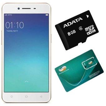 Bộ 1 OPPO Neo9_ A37 16GB (Vàng Hồng) + 1 Sim Viettel+ 1 Thẻ Nhớ 8GB