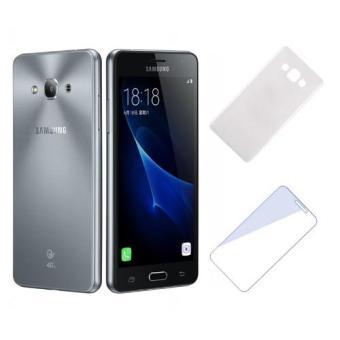 Bộ Samsung Galaxy J3 Pro 16GB (Đen) - Hàng nhập khẩu + Ốp lưng + kính cường lực(Đen 16GB)