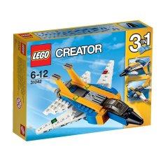 Bộ xếp hình LEGO 31042 Siêu máy bay phản lực