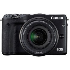 Canon EOS M3 24.2MP với Lens Kit 18-55 EF-M IS STM (Đen)