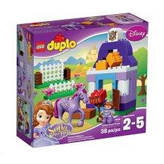 Đồ chơi xếp hình Duplo Sofia the First Royal Stable LEGO 10594